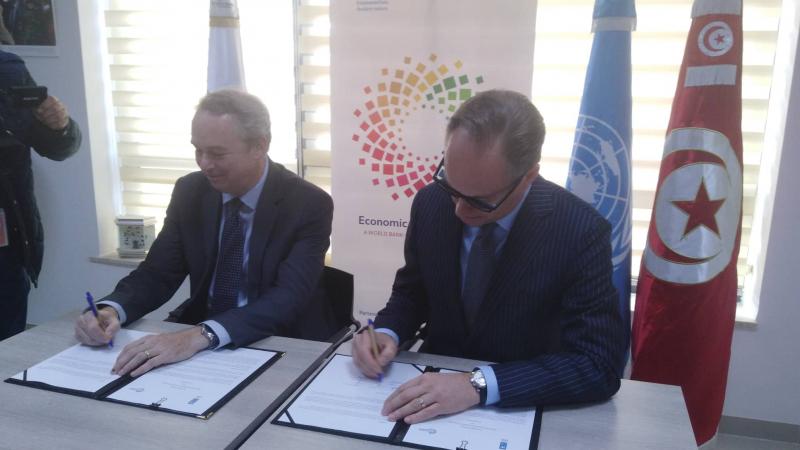 البنك الدولي وبرنامج الأمم المتحدة يطلقان حوار السياسيات الإقتصادية