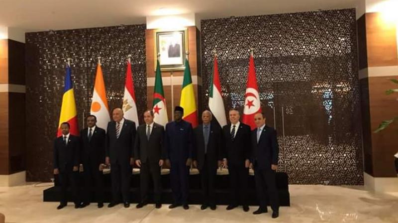 دول جوار ليبيا ترفض التدخلات الأجنبية