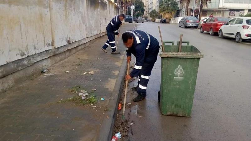 أعوان بلدية تونس يتوقّفون عن العمل بصفة فجئية