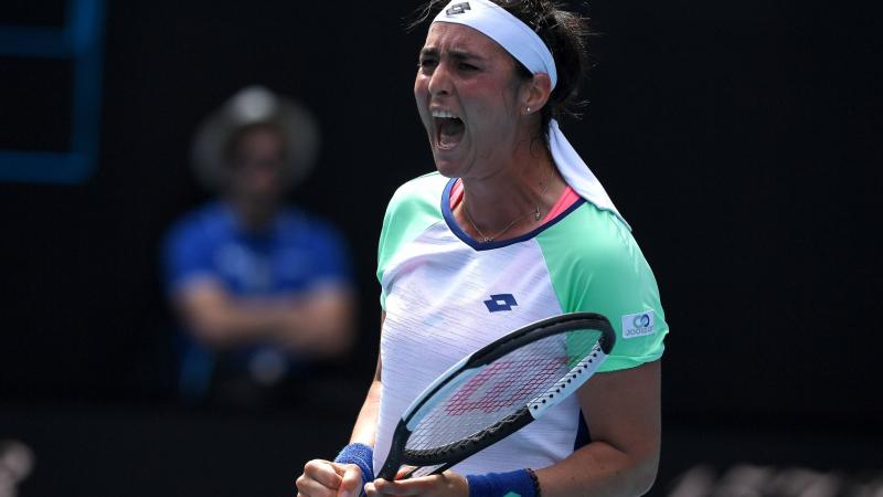 أنس جابر تواصل تألّقها وتتأهّل لربع نهائي دورة أستراليا المفتوحة