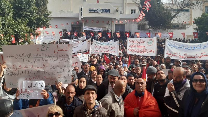 الاتحاد العام التونسي للشغل يتبرع بـ 100 الف دينار لمستشفى القصرين