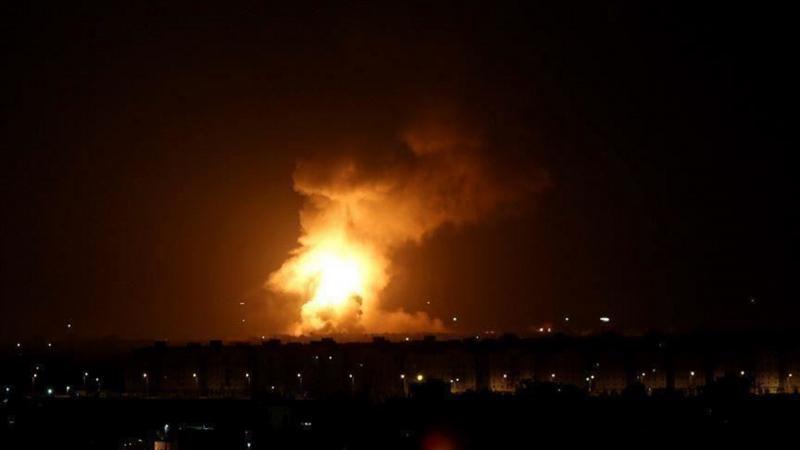 جرحى في هجوم صاروخي استهدف سفارة أمريكا في بغداد