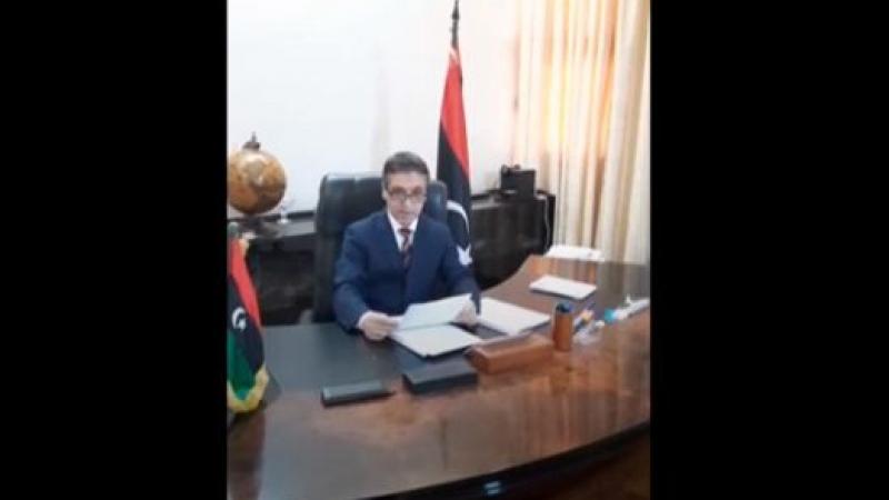 سفير ليبي ينشق عن حكومة السراج