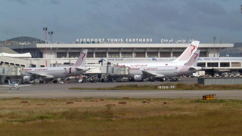 مطار قرطاج: إحالة 150 عاملا على البطالة