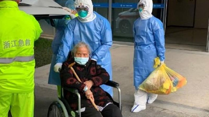 تعافي أكبر مريضة بالكورونا في الصّين