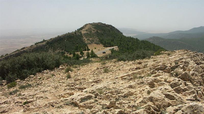 القصرين:العثور على أدباش ومؤونة تخص ارهابيين بجبال القصرين