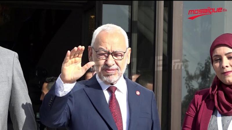 بعد لقائه الغنوشي: الطيب راشد يغادر دون الإدلاء بتصريح