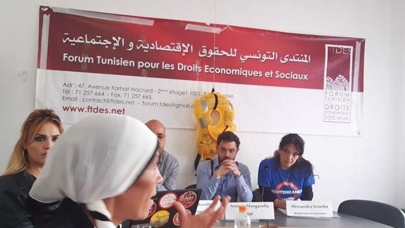 معاناة اللاجئين بمركزي الوردية وبن قردان تشبه وضعية التونسيين بمليلة
