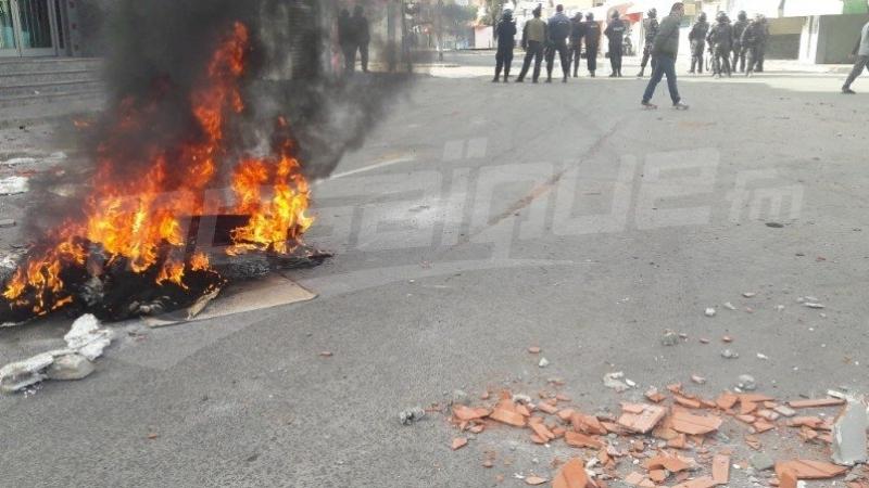 جرزونة: احداث شغب بعد مباراة النادي البنزرتي والترجي