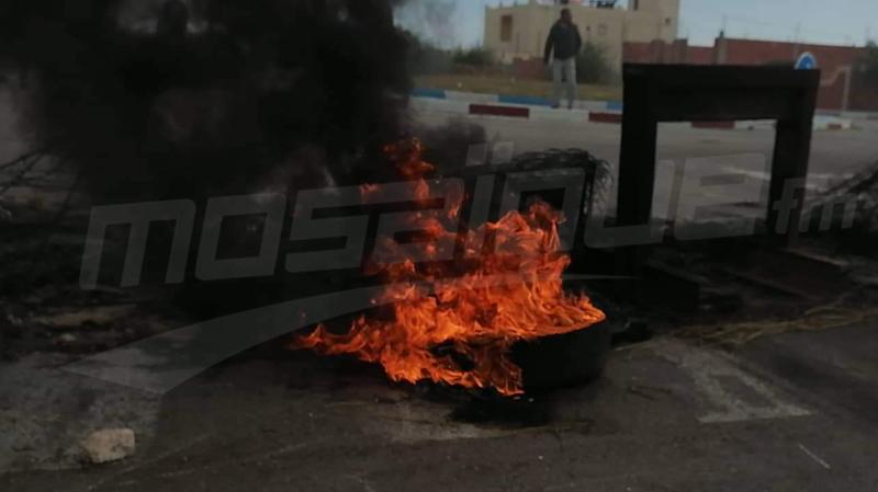 حادث هرقلة:  الأهالي يصعدون احتجاجاتهم