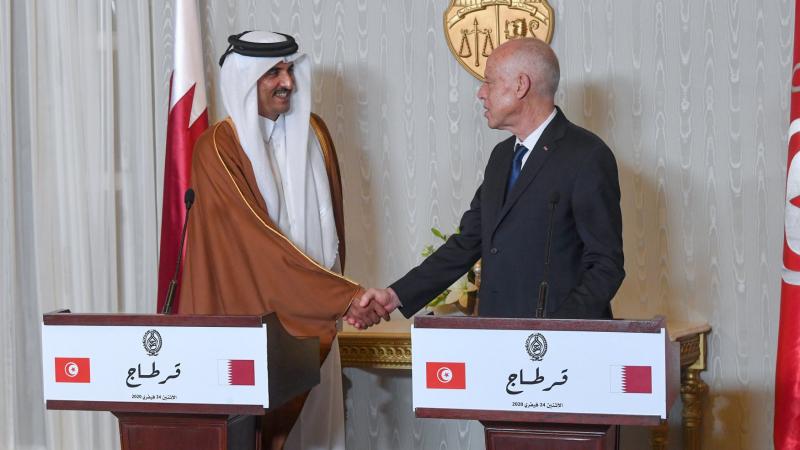 إستعداد قطري للمساهمة في انجاز مشروعين في القيروان وسيدي بوزيد