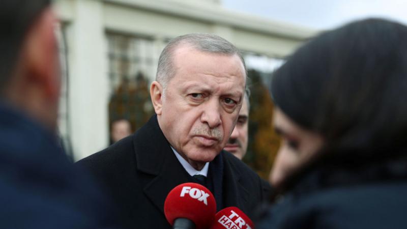 أردوغان يقر بمقتل عسكريين أتراك في ليبيا