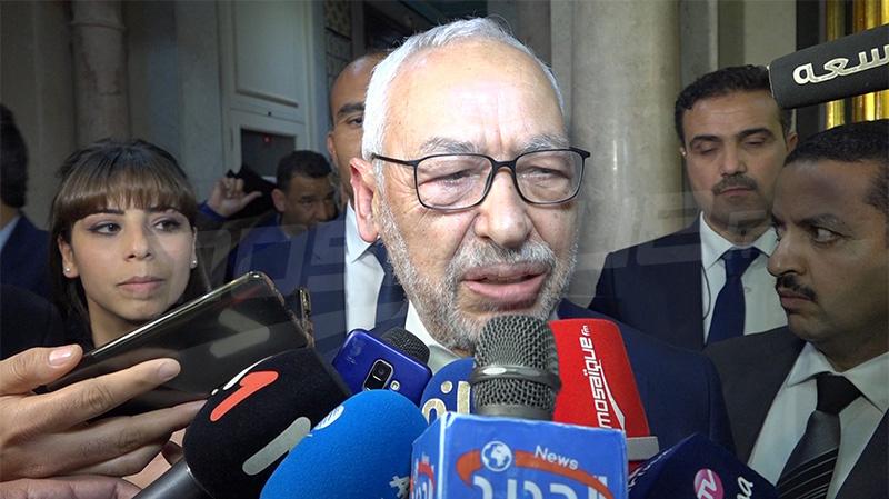 الغنوشي: نتيجة التصويت على حكومة الفخفاخ مشرّفة