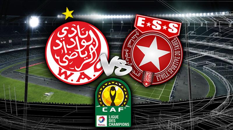 وفد النجم الساحلي يتحوّل إلى الدار البيضاء: قائمة اللاعبين