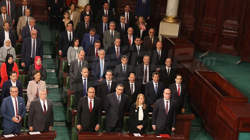 حكومة الفخفاخ تؤدي القسم وتصرح على المكاسب والمصالح