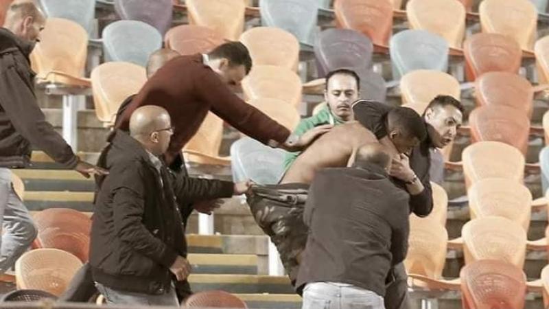 عنف وإهانات في استاد القاهرة..ما هكذا تُعامل جماهير الترجي !؟