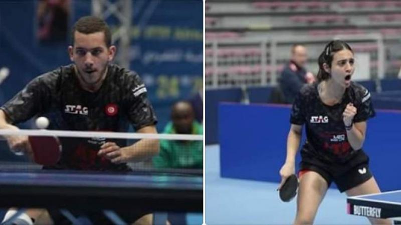 تنس الطاولة: آدم حمام وفدوى القارسي يتأهلان إلى أولمبياد طوكيو