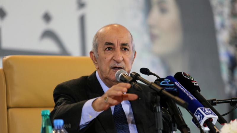 الرئيس الجزائري تحت قبة مجلس النواب
