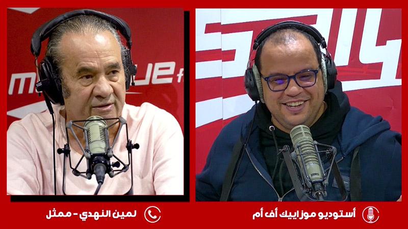 لمين النهدي: ما نعيشه اليوم امتحان للتونسي ليثبت انضباطه