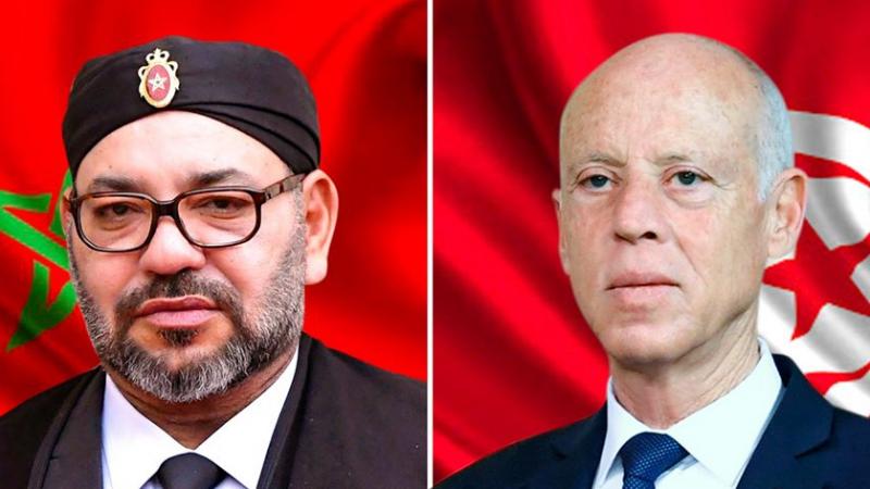 فيروس ''كورونا'' محور مكالمة هاتفية بين قيس سعيّد وملك المغرب