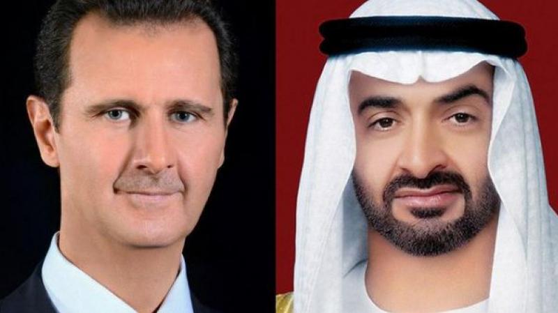بعد قطيعة لسنوات: 'كورونا' يقرّب بين بن زايد والأسد
