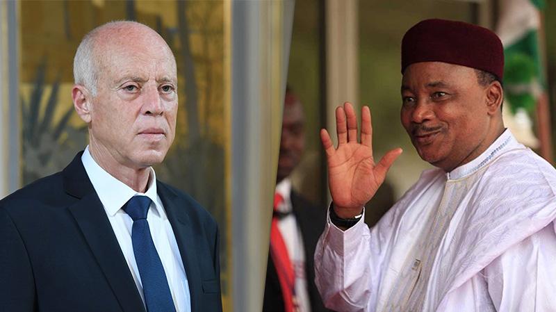 سبل التصدي لفيروس كورونا في اتصال قيس سعيّد برئيس النيجر