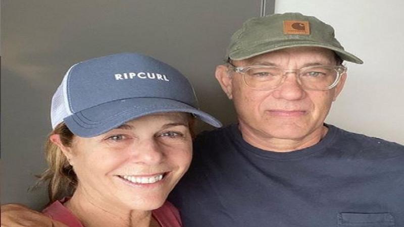 توم هانكس وزوجته يتعافان من كورونا