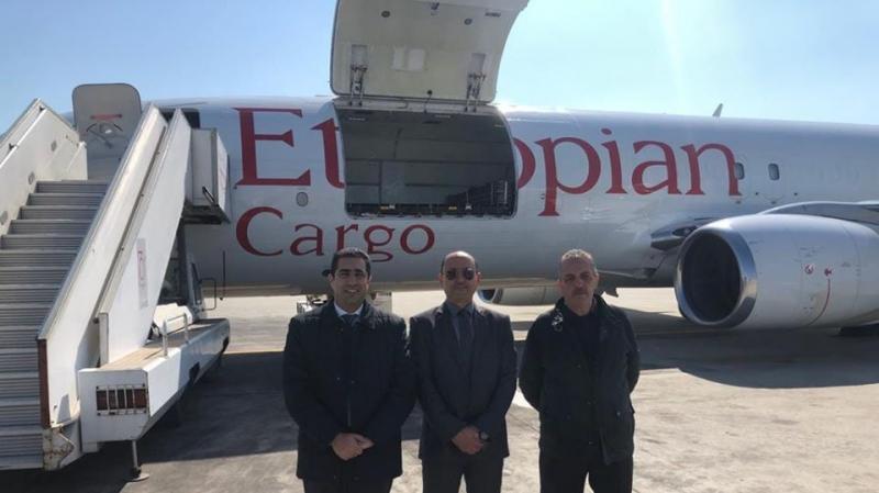 قادمة من أثيوبيا: شحنة المساعدات الطبية تصل مطار قرطاج