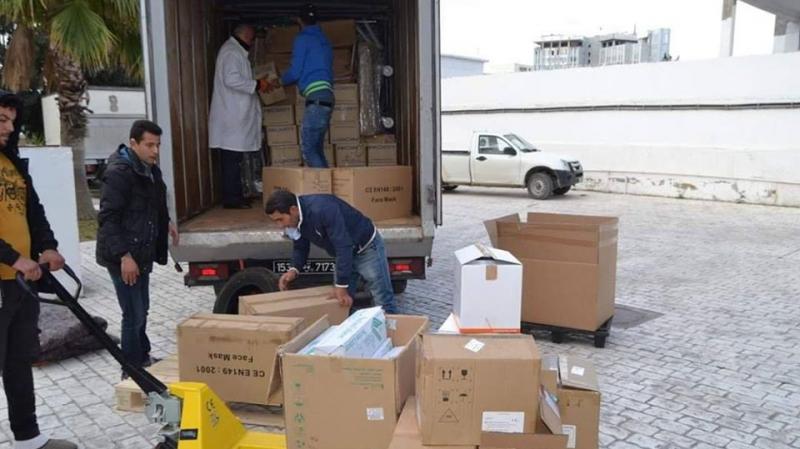معدات طبية بقيمة 280 ألف دينار تصل مستشفى جربة