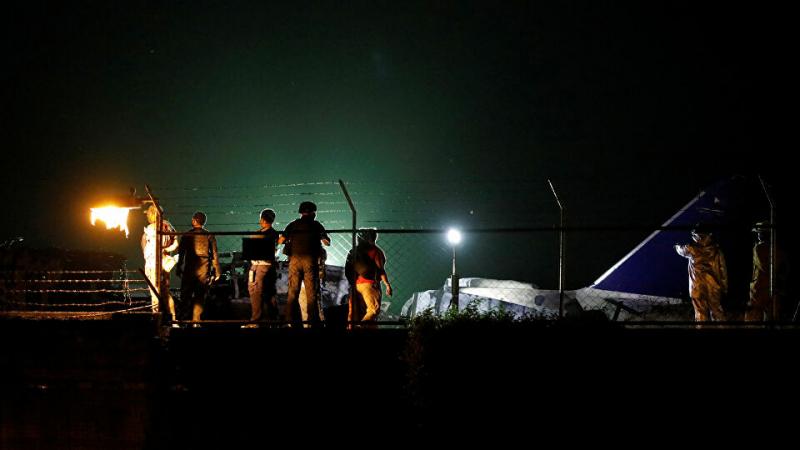 الفلبين: إشتعال طائرة على متنها طاقم طبي ومرضى