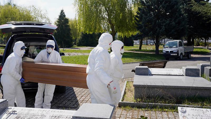 812 وفاة جديدة بكورونا في إيطاليا