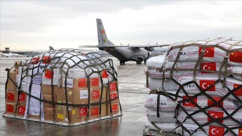 بعد سفينة لإيطاليا: تركيا ترسل طائرة مساعدات لإسبانيا