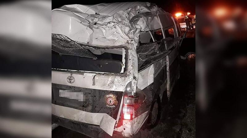 رادس: وفاة أمني وإصابة آخر في إنقلاب سيارة