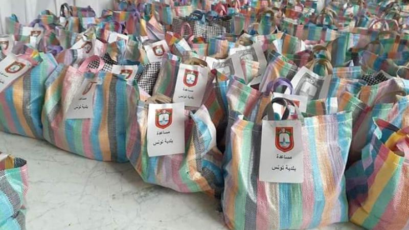 لمجابهة أزمة كورونا: بلدية تونس توزع ألفمساعدة عينية