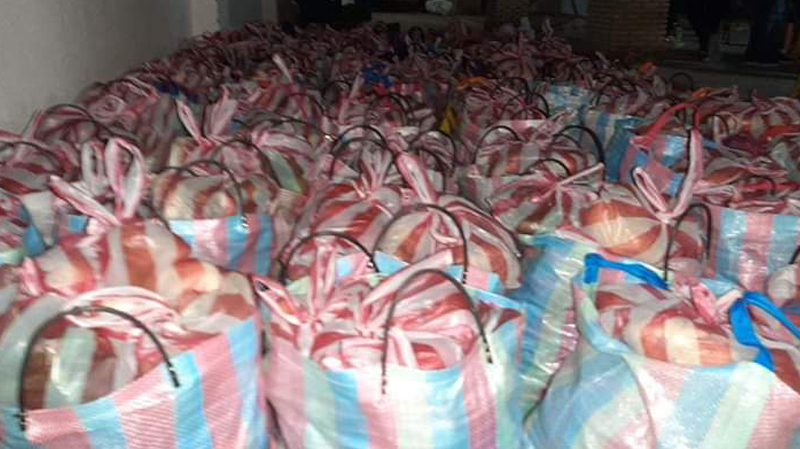 نفطة: توزيع 140مساعدة على مستحقيها