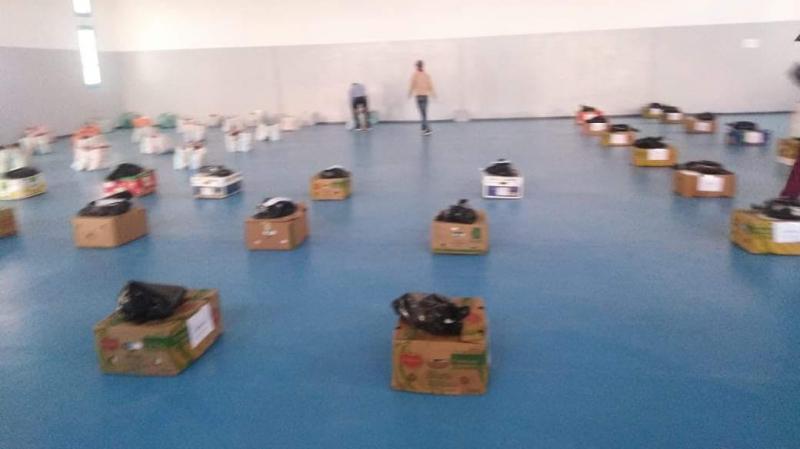 توزيع مساعدات اجتماعية في تطاوين