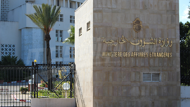 الخارجية تنفي صحة خبر الإستيلاء على شحنة معدات قادمة من الصين لتونس