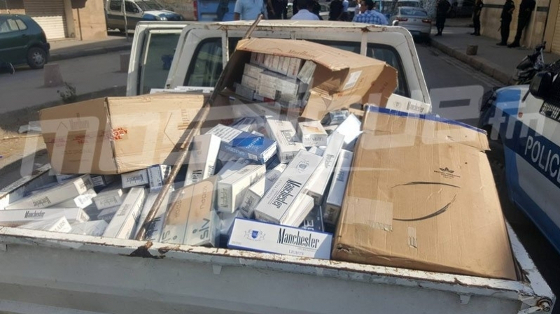 الصخيرة: حجز 7 آلاف علبة سجائر