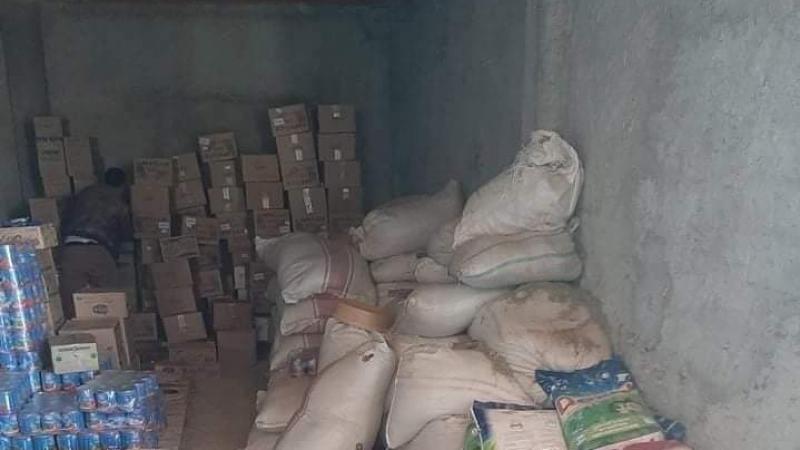 الكاف: مواد غذائية منتهية الصلوحية ومجهولة المصدرفي مخزن عشوائي