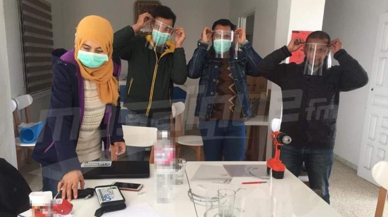 جندوبة: مبادرات شبابية ومواطنية لصناعة وسائل الحماية من كورونا