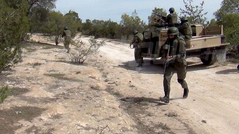 عمليات تعقب لإرهابيين في مرتفعات القصرين بعد رصد تحركات مشبوهة