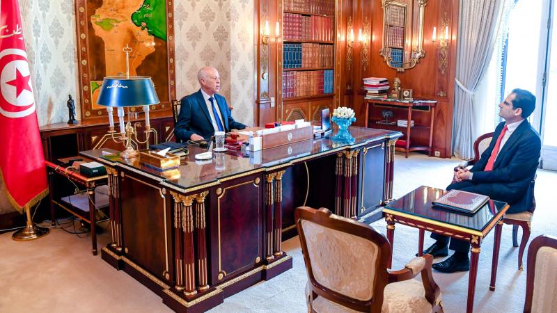 مقاربة تونس الدولية لمعالجة كورونا محور لقاء سعيّد بوزير الخارجية