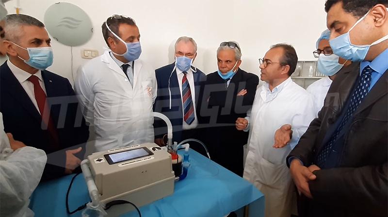 مستشفى حشاد بسوسة يتسلّم مُولّد غاز عالي التدفق من تصميم طلبة