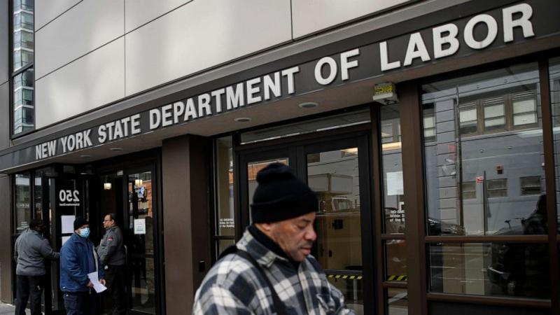 17 مليون عاطل عن العمل في الولايات المتحدة بسبب كورونا