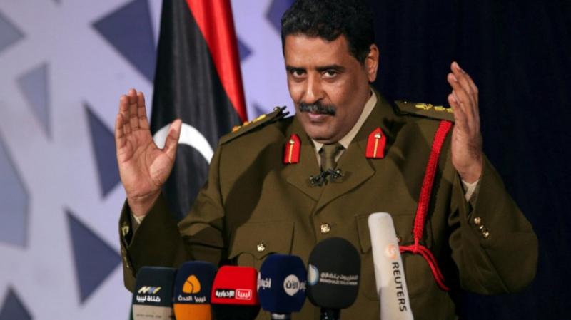 ''المسماري'': الانسحاب من عدة محاور في طرابلس تكتيكي