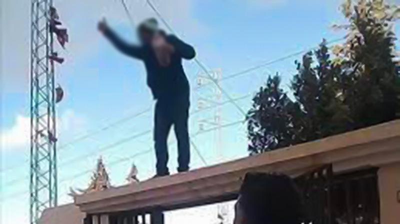 محاولة انتحار حرقا أمام المحكمة الابتدائية بقفصة