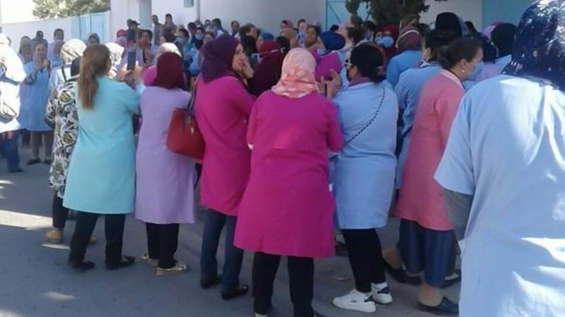 الشابة: تحرّكات احتجاجية لعمال القطاع الخاص والإتحاد على الخط