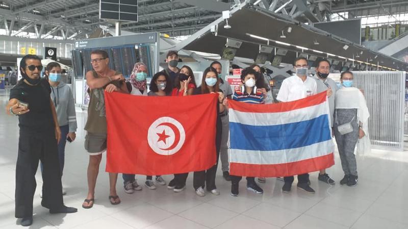إجلاء تونسيين عالقين بتايلاندا منذ مارس الماضي