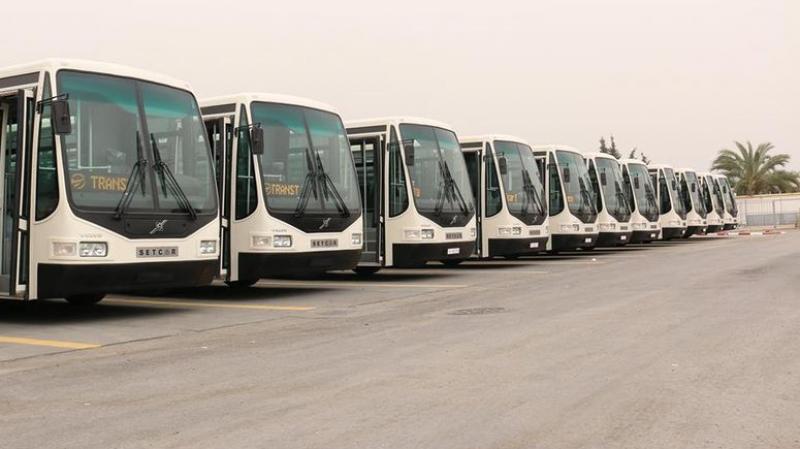 نقل تونس تعلن تعزيز أسطول حافلاتها