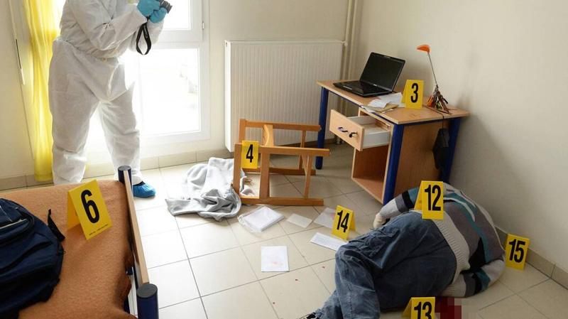 الحرايرية: العثور على كهل مذبوح في منزله والإحتفاظ بزوجته